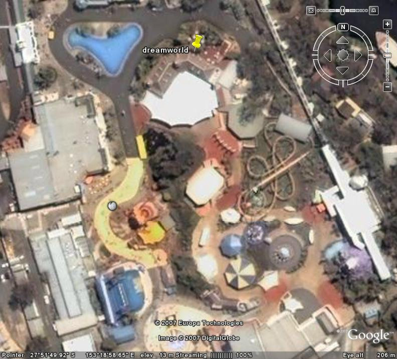 Dreamworld in google earth google earth cool places dreamworld australia gumiabroncs Images