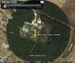 Forest Around Ex Nuclear Reactor In Google Earth Google Earth Cool Places