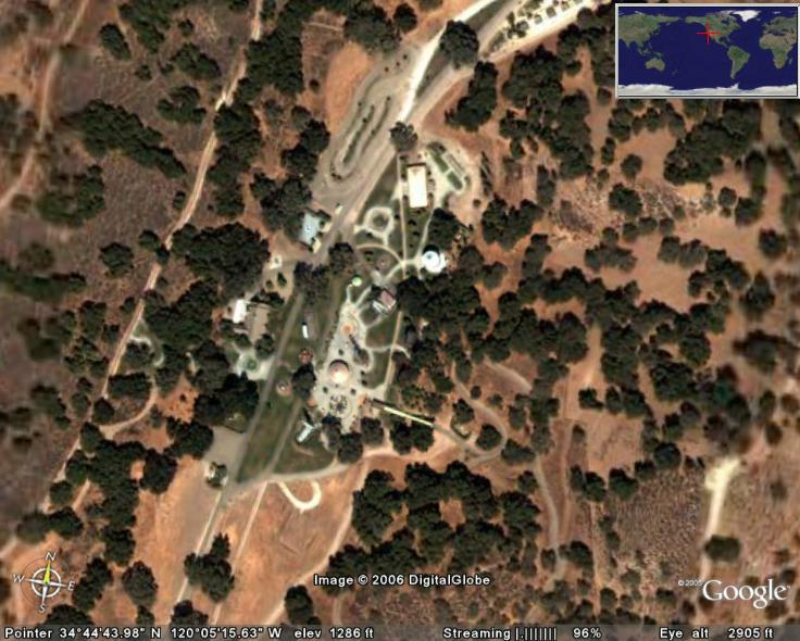 Neverland Ranch In Google Earth Google Earth Cool Places