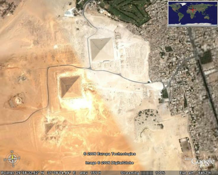 Pyramids In Egypt Map.The Pyramids In Google Earth Google Earth Cool Places
