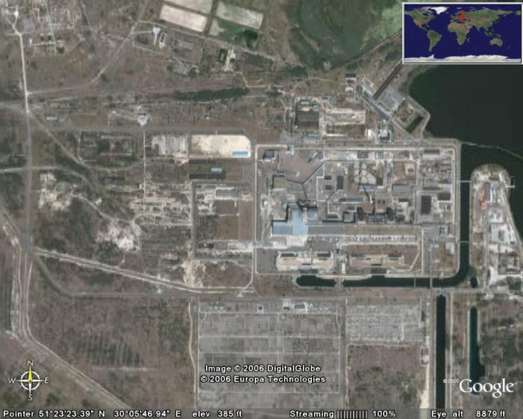 Tjernobyl In Google Earth Google Earth Cool Places